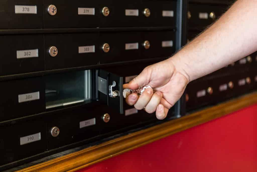Secure Mailbox Rental
